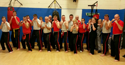 Martial Arts Fitness class club in Huyton, Liverpool
